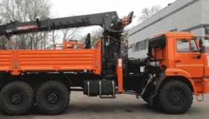 КАМАЗ-43118 манипулятор вездеход