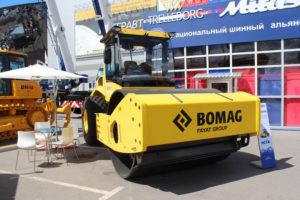 Каток Bomag 219-грунтовый