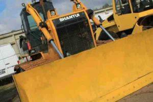 Бульдозер Shantui SD16L(болотник)